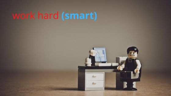 Online Angličtina work hard (smart)